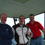 Ray, Scott and Martin in the Tower
